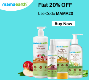 Flat 20% OFF Mamaearth coupon